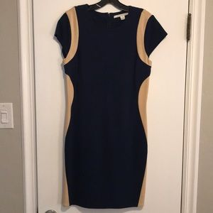 Extremely flattering DVF cocktail dress